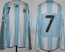 Argentina - 2008 - Home - Adidas - Qualy Sudafrica WC vs Paraguay - A. Di Maria