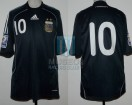 Argentina - 2009 - Away - Adidas - Qualy Sudafrica WC vs Uruguay - L. Messi