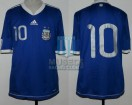 Argentina - 2010 - Away - Adidas - Friendly vs Jamaica - F. Insua