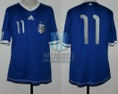 Argentina - 2010 - Away - Adidas - Friendly vs Jamaica - F. Jara