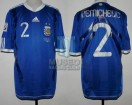 Argentina - 2010 - Away - Adidas - South Africa WC vs Greece - M. Demichelis