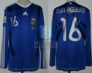 Argentina - 2010 - Away - Adidas - South Africa WC vs Greece - S. Aguero