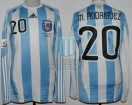 Argentina - 2010 - Home - Adidas - QF South Africa WC vs Germany - M. Rodriguez