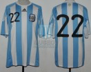 Argentina - 2010 - Home - Adidas - Friendly vs Ireland - D. Milito