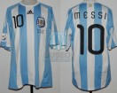 Argentina - 2010 - Home - Adidas - South Africa WC vs Nigeria - L. Messi