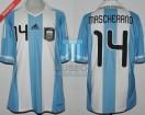 Argentina - 2011 - Home - Adidas - Copa America vs Bolivia - J. Mascherano