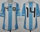 Argentina - 2011 - Home - Adidas - Qualy Brasil WC vs Bolivia - J. Mascherano