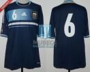 Argentina - 2012 - Away - Adidas - Friendly vs Germany - E. Garay