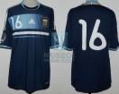 Argentina - 2012 - Away - Adidas - Friendly vs Suiza - S. Aguero