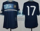 Argentina - 2012 - Away - Adidas - Qualy Brasil WC - F. Fernandez