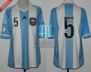 Argentina - 2012 - Home - Adidas - Qualy Brasil WC vs Chile - F. Gago