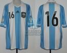 Argentina - 2012 - Home - Adidas - Qualy Brasil WC vs Ecuador - S. Aguero