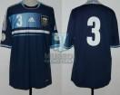 Argentina - 2013 - Away - Adidas - Qualy Brasil WC vs Uruguay - H. Campagnaro