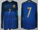 Argentina - 2014 - Away - Adidas - Friendly vs Germany (ST) - A. Di Maria