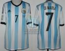 Argentina - 2014 - Home - Adidas - Brasil WC vs Iran - A. Di Maria