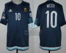 Argentina - 2015 - Away - Adidas - Chile Copa America vs Uruguay - L. Messi