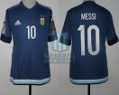 Argentina - 2016 - Away - Adidas - SF Copa America USA Centenario vs USA - L. Messi