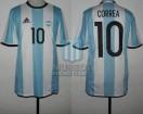Argentina - 2016 - Home - Adidas - Rio de Janeiro Olympic Games vs Portugal - A. Correa