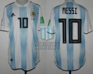 Argentina - 2018 - Home - Adidas - Russia WC vs Nigeria - L. Messi