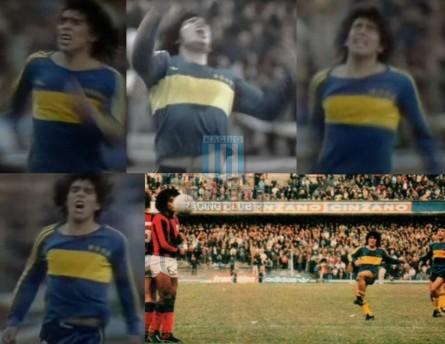 BocaJuniors_1981_Home_Adidas_24taFechaTorneoMetropolitanovsSanLorenzo_Campeon_ST_ML_10_DiegoMaradona_jugador_50