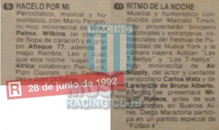 RitmoDeLaNoche_1992_Home_Adidas_CocaCola_F4vsLasEstrellas_FICHA_MC_10_DiegoMaradona_jugador_01