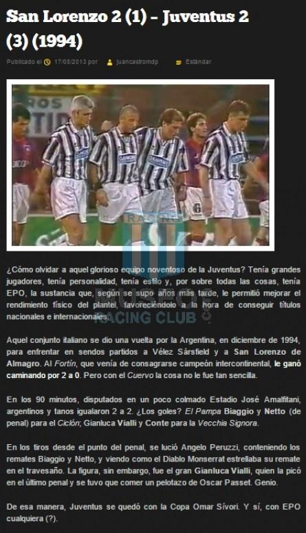 JuventusFC_1994_Home_Kappa_Danone_EnriqueSivoriCupvsSanLorenzo_FICHA_MC_7_GiancarloMarrochi_jugador_01