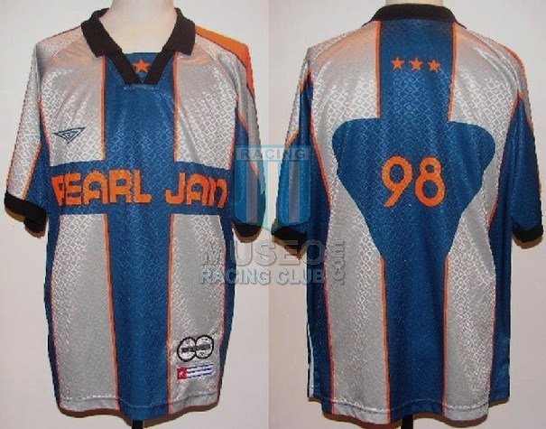 Official Pearl Jam soccer shirt from the Yield World Tour 1998!!! Made in Canada! Size XL! 100% Polyester! Ames Bros/Pearl Jam Trademark!