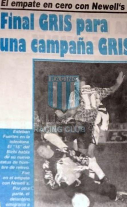 Racing_1997_Away_Topper_Multicanal_CL97vsNewellsOldBoys_FICHA_MC_16_EstebanFuertes_jugador_10