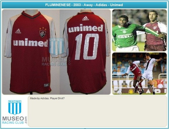 Made by Adidas. Player Shirt?, Number 10. Away shirt from 2004. Short Sleeves.